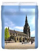 St Mary's Church At Lichfield Duvet Cover