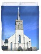 St. Marys Church Killybegs Duvet Cover