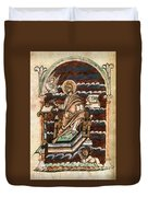 St. Matthew, 10th Century Duvet Cover