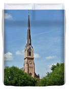 St. Matthew's German Evangelical Lutheran Church In Charleston Duvet Cover