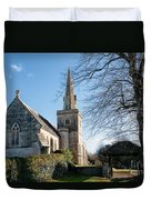 St Michael And All Angels Church -- Little Bredy Duvet Cover