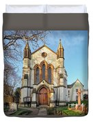 St Michael And St George R.c Church - Lyme Regis Duvet Cover