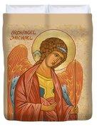 St. Michael Archangel - Jcami Duvet Cover