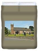 St Michael's Church At Willington Duvet Cover