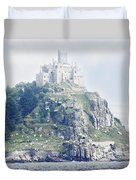 St Michael's Mount Cornwall England Duvet Cover