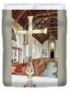 St Mylor Cross Reflections Duvet Cover