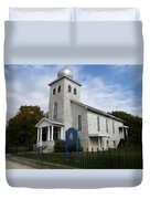 St Nicholas Church Saint Clair Pennsylvania Duvet Cover