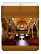 St. Nicholas Of Tolentine Church - Iv Duvet Cover