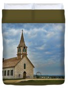 St Olafs Church Duvet Cover