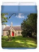 St Oswald's Church Entrance Duvet Cover