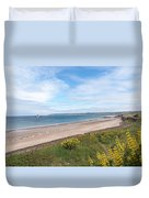 St Ouen's Bay Jersey Duvet Cover