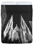 St Patrick's Cathedral  Duvet Cover