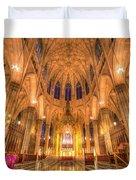 St Patrick's Cathedral Manhattan New York Duvet Cover