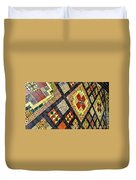 St. Patrick's Cathedral Mosaic Floors Duvet Cover