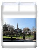 St. Patrick's Cathedral, Trim Duvet Cover