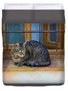 St Paul Cat Duvet Cover