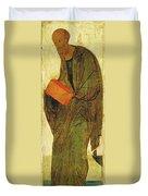 St Paul. From Deisus Tier Duvet Cover
