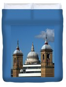 St Pauls An Alternate View Duvet Cover