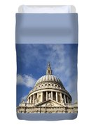 St Pauls Cathedral London England Uk Duvet Cover