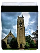 St Pauls Episopal Church Duvet Cover