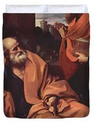 St Peter And St Paul Duvet Cover