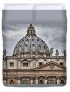 St. Peter's Basilica Duvet Cover
