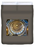 St. Peters Inside The Dome Duvet Cover