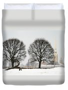 St. Petersburg - Winter Duvet Cover