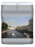 St. Petersburg Canal - Russia Duvet Cover