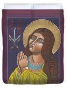 St Philomena 167 Duvet Cover