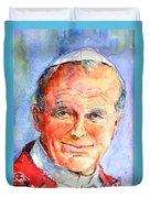 St. Pope Paul John II Duvet Cover