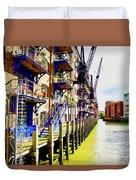 St Saviours Wharf Duvet Cover