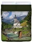 St. Sebastian Church Duvet Cover