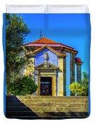 St. Sebastian's Chapel Duvet Cover