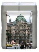St Stephens Square Vienna Duvet Cover