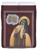 St Teresa Of Avila 177 Duvet Cover
