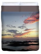 St. Thomas Sunset Duvet Cover