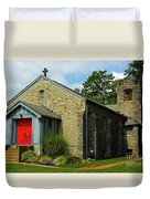St. Timothy's Episcopal Church Duvet Cover