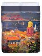 St Tropez Sailing Duvet Cover