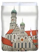 St. Ulrich's And St. Afra's Abbey Duvet Cover