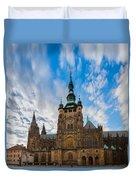 St  Vitus Cathedral In Prague Duvet Cover