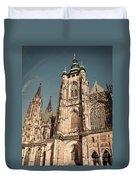 St Vitus Cathedral Prague Duvet Cover