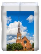St Wenc On A Bright Summer Day Duvet Cover