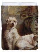 Stablemates Duvet Cover by John Fitz Marshall