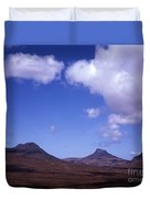 Stac Pollaidh Inverpolly National Nature Reserve Wester Ross Scotland Duvet Cover