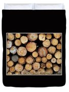 Stacked Timber Two Duvet Cover