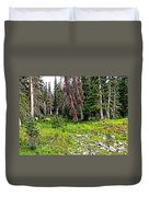 Stag Forest Duvet Cover