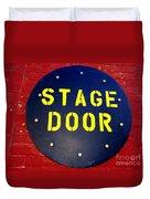 Stage Door Duvet Cover
