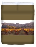 Stags Leap Wine Cellars Napa Duvet Cover