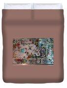 Stain Glass - Bath House - Hot Springs, Ar Duvet Cover
